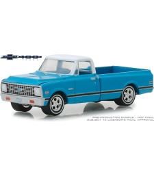 1972 Chevrolet C-10 100th Anniversary of Chevy Trucks Solid Pack - Anniversary Collection Series 7