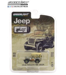 Anniversary Collection Series 12 - 1940 Willys MB Jeep - Jeep 80th Anniversary Solid Pack