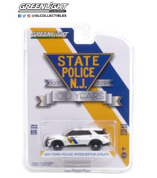 Anniversary Collection Series 12 - 2021 Ford Police Interceptor Utility - New Jersey State Police 100th Anniversary Solid Pack