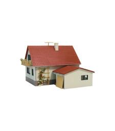 Къща с гараж  H0/TT