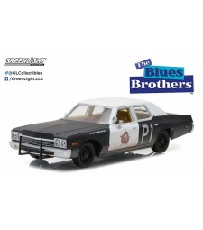 "Blues Brothers (1980) - 1974 Dodge Monaco ""Bluesmobile"" - Hollywood Series 1"