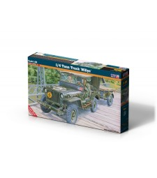 1:35 Военен автомобил 1/4 тона Willys (1/4 Tonn Truck Willys)