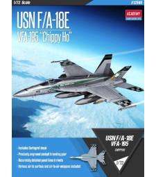 """1:72 Американски изтребител USN F/A-18E """"VFA-195 Chippy Ho"""""""