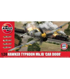 1:24 Британски самолет-бомбардировач HAWKER TYPHOON Mk.IB (extra decal scheme)