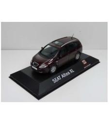 Seat Altea Xl In Seat Dealer Packaging, Dark Red