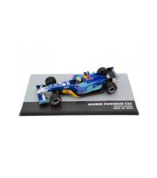 2004 Sauber Petronas C23 #12 Felipe Massa Italy GP F1, Blue/Yellow