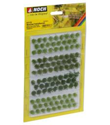 """Туфи трева """"Полски цветя"""" светло, средно и тъмно зелено, 104 броя, 6mm"""