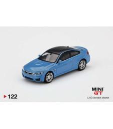 BMW M4 (F82), Yas Marina Blue Metallic