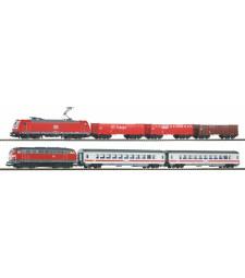 S-Комплект от 2 влака SmartControl light, DB AG, с релсов път, епоха VI