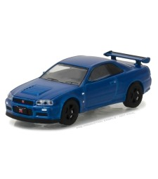 Tokyo Torque Series 1 - 2002 Nissan Skyline GT-R (R34) - Bayside Blue Solid Pack