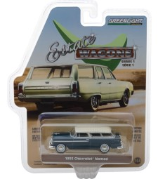 1955 Chevrolet Nomad - Glacier Blue and Shoreline Beige Solid Pack - Estate Wagons Series 1