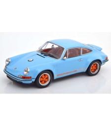 Porsche Singer 911 Coupe lightblue/orange Limited Edition 1000 pcs.