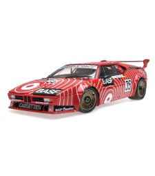 BMW M1 – BASF TEAM GS SPORT – STUCK/HEYER – 6H SILVERSTONE 1981 L.E. 504 PCS.