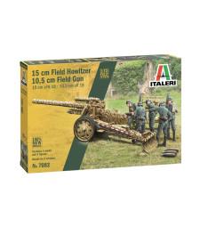 1:72 15 cm Field Howitzer / 10,5 cm Field Gun