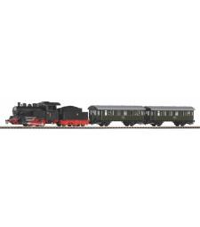 Стартов комплект от парен локомотив и два пътнически вагона на полските PKP