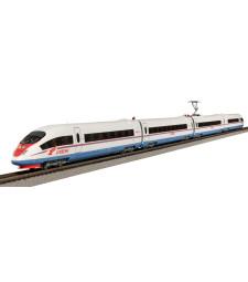 Стартов комплект Velaro Sapsan RUS, с релсов път PIKO A-Track с основа