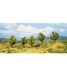 Ябълково дърво с ябълки - височина 8 см, 5 броя - TREE CUBE