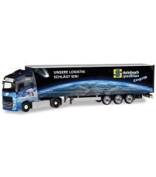 "CURTAIN CANVAS SEMITRAILER ""STEINBACH LOGISTIK"""