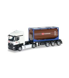 "Mercedes-Benz Actros Streamspace 2.5 tank container semitrailer ""DB Schenker"""