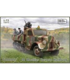 1:72 V3S /SSM Maultier German Halftrack