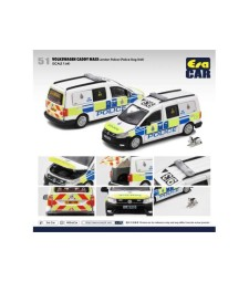Volkswagen Caddy Maxi London Police, Ppolice Dog Unit, White/Blue/Yellow