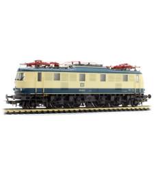 Електрически локомотив BR 118, DB, бежово-синьо, епоха IV с DSS PluX22