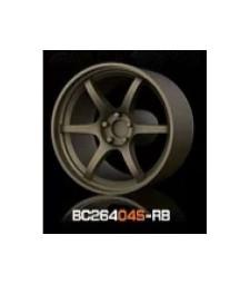 1:64 Комплект състезателни гуми и джанти 7.4MM-8.9MM BRONZE - 4 броя