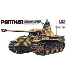 1:35 German Panther Ausf A Medium Tank - 2 figures