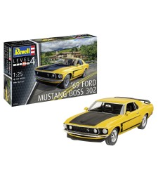 1:25 Автомобил 1969 Boss 302 Mustang