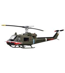 "1:48 Хеликоптер УХ-1С 1970 г. (Helicopter - UH-1C of the 174th AHC gun platoon ""Sharks"",1970)"