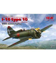 1:32 I-16 type 10, WWII Soviet Fighter