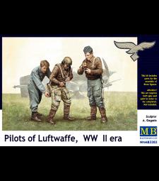 1:32 Пилоти на Луфтвафе, ерата на Втората световна война - 3 фигури