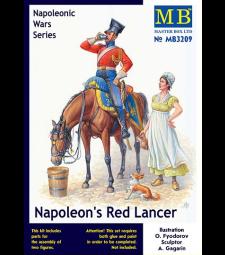 1:32 Червен пиконосец на Наполеон, серия Наполеонови войни - 2 фигури