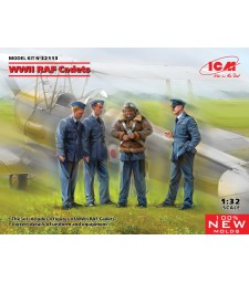 1:32 WWII RAF Cadets (100% new molds)