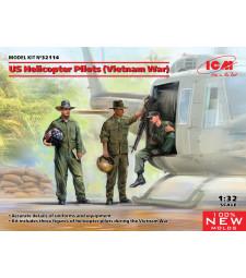 1:32 Пилоти на американски хеликоптер (Война във Виетнам) (100% нови матрици)