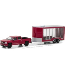 Hitch & Tow Series 12 - 2016 Chevrolet Silverado and Glass Display Trailer Solid Pack