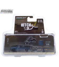 Hitch & Tow Series 21 - 2020 Chevrolet Silverado and Utility Trailer with 2020 Indian Scout Bobber Motorcycle Solid Pack
