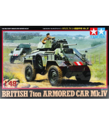 1:48 Британски 7-тонен брониран автомобил Mk.IV