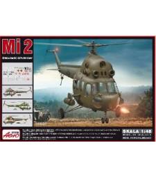 1:48 Военен хеликоптер MI-2
