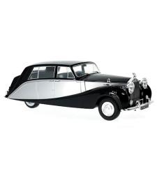 Rolls Royce silver Wraith Empress by Hooper, black-silver, RHD, 1956