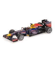 INFINITI RED BULL RACING RENAULT RB9 - SEBASTIAN VETTEL - WINNER INDIAN GP 2013  L.E. 1512 pcs.