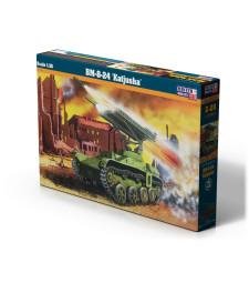 1:72 Съветска реактивна система за залпов огън Катюша BM-8-24 KATJUSHA