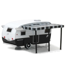 Shasta Airflyte - Black and White with Awning Solid Pack - Hitched Homes Series 4