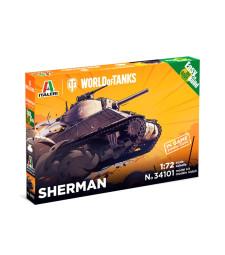 1:72 Американски среден танк Шърман (SHERMAN) - World of Tanks - Бърза сглобка