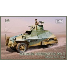 1:35 Брониран автомобил Marmon-Herrington Mk II Middle East