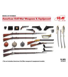 1:35 Оръжия и оборудване за Гражданската война в САЩ
