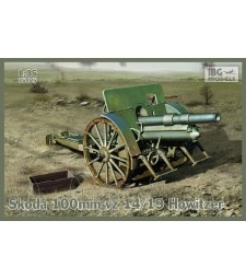 1:35 Гаубица Skoda 100mm vz 14/19 Howitzer