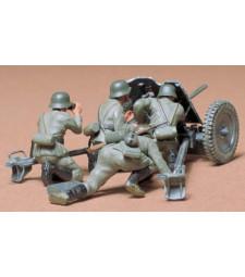 1:35 Германско противотанково оръдие - Ger. 37mm Anti-tank Gun Kit - 4 фигури