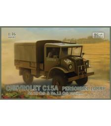 1:35 Траспортен камион Chevrolet C15A Personnel Lorry (кабини 12 и 13)