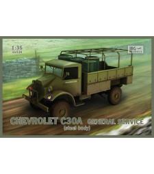 1:35 Камион с общо предназначение Chevrolet C30A General Service (стоманен корпус)